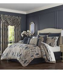 blue comforters down comforters