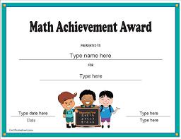 Achievement Awards Certificates Templates Certificate Street Free Award Certificate Templates No