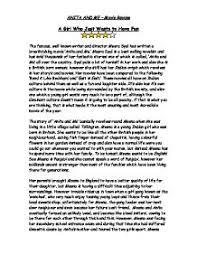 anita and me movie review gcse english marked by teachers com page 1