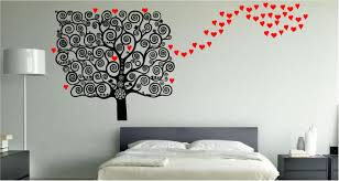 special bedroom wall art theme for cozy and decorative look