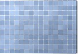 bathroom tiles background. Background Of Bathroom Tiles In Light Blue Color Canvas Print