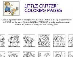Little Critter Coloring Pages Ebcs 2263472d70e3