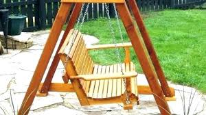 baby swing stand plans porch swings with 4 foot friendly synthetic wood home design survival frame