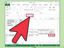 Image Titled Prepare Amortization Schedule In Excel Step 8 Mortgage ...