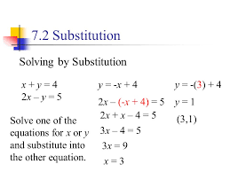 how to solve for y in an equation with x tessshlo