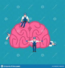 Repairing And Maintenance Repair And Maintenance Brain Miniature Workers And Brains