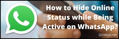 I can't speak for whatsapp as i'm not a user or much less familiar with their internal api, but i have played around with this in messenger. How To Hide Online Status While Keeping Active On Whatsapp Gbmod Net