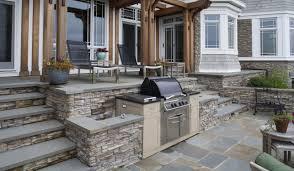 Eldorado Outdoor Kitchen Stone Wall Cladding Exterior Stacked Stone Nantucket