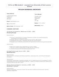 Makeup Artist Sample Resume