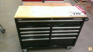 husky tool cabinet at hd the garage