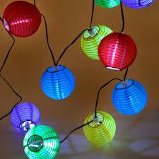 Solar Lampionsnoer 10 Lampjes