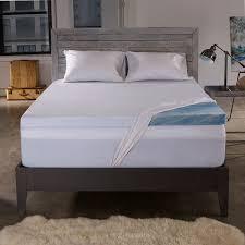 memory foam mattress topper box. Beautiful Memory 25inch Gel Memory Foam Mattress Topper W Cover For Box