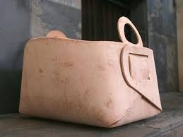 leather storage basket leather storage baskets bins