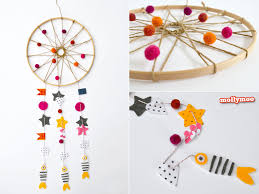 What Are Dream Catchers For Extraordinary MollyMooCrafts How To Make A Dream Catcher