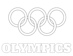 olympic rings coloring page olympic rings coloring sheet printable on super bowl 25 square pool template