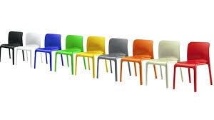 coloured dining chairs modern plastic white chair