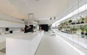 Kitchen Island Storage Modern White Kitchen Island With Suspended Industrial Storage
