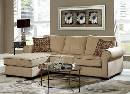 3501 sectional sofa in cream chenille w