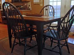 Paint A Kitchen Table Black Paint Briarpatchprims Weblog