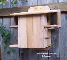 cedar squirrel house