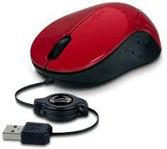 Laidinė pelė <b>Speedlink Beenie</b> su suvyniojamu laidu (SL-610012 ...
