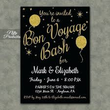 Free Going Away Party Invitations Going Away Party Invitation Template Farewell Card Free