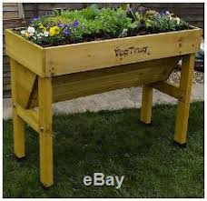 elevated raised garden beds. Wooden Outdoor Elevated Raised Tall Garden Vegetable Plant Bed Box Planter Stand Beds F