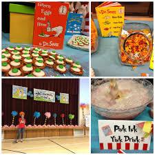 Dr Seuss Party Decorations Seuss Party Food
