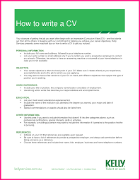 7 How To Write A Curriculum Vitae