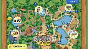 simple zoo map for kids.  Simple ABCmousecom Zoo Set 1 Screenshot 2 Inside Simple Map For Kids C