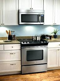 over the stove microwave. Microwave Above Stove Oven Over Outside In Within Prepare . The