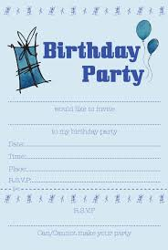 Boy Birthday Party Invitation Templates Free Boy Birthday Invitation Template Tirevi Fontanacountryinn Com