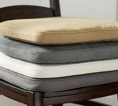 alluring large chair cushions in pb classic dining cushion pottery barn