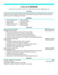 Spa Coordinator Resume Sample Maintenance Planner Resume Sample 60 Coordinator Resume Examples 1