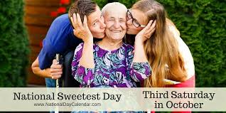NATIONAL SWEETEST DAY - Third Saturday in October - National ...