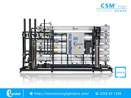 Máy lọc nước công nghiệp xử lý nước lợ, nước nhiễm mặn hiệu quả