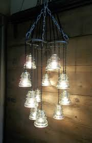 cool lighting fixtures chandeliers details about horse shoe antique glass insulator pendant