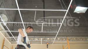drop ceilings installation how to