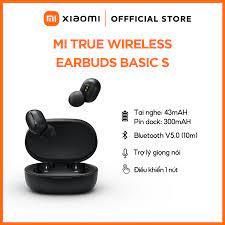 Tai nghe Bluetooth True Wireless Xiaomi Earbud Airdots Basic S (Model  ZBW4502GL) - Hàng Chính Hãng   Xiaomi Official Store