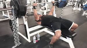 Bench Pressing 365 Plus Chains At A Bodyweight Of 165lbs  YouTubeChains Bench Press