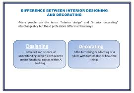 Designer Vs Decorator What Is The Difference Between Architecture And Interior Design 95