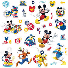 rmk2555scs walt disney kids ii mickey mouse clubhouse capers wall decal by york