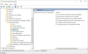 Microsoft Releases Microsoft Edge Chromium Group Policies