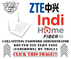 Open cmd type the commends telnet your ip ( 192.168.1.1 ) press enter. Cara Setting Password Administrator Router Zte Zxhn F609 Indihome By Tril21 Blog Tril21