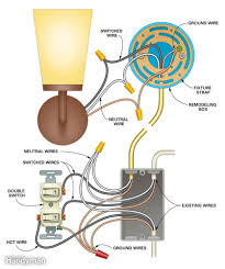 wall light wiring diagram wall wiring diagrams online