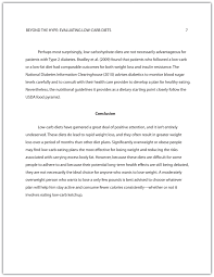 developing a final draft of a research paper writing for  page 7