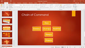 Organization Chart Add In For Microsoft Office Programs 2016 How To Create An Organization Chart In Powerpoint 2016 Dummies