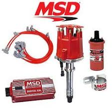 msd cable assembly 2 wire 6 8860 car parts msd complete ignition kit digital distributor wires coil bracket sbc