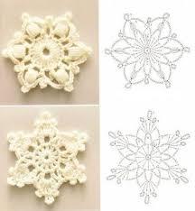Crochet Snowflake Pattern Chart Crochet Snowflakes Chart Pattern Crochet Snowflake Pattern