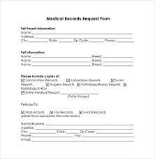 Sample Medical Records Release Form Medical Records Release Form 10 Free Samples Examples